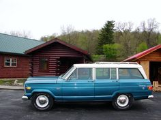 My idea of the perfect family road trip vehicle - 1967 Jeep Wagoneer