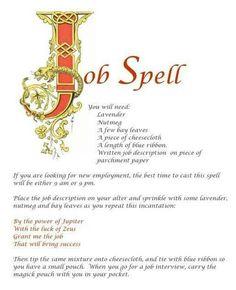 Job spell