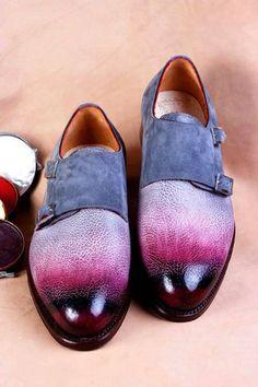 ivan-crivellaro-double-monk-burnished-toecap #crivellaro #PurelyInspiration