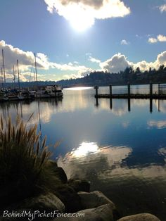 {west bay • olympia, wa} pinner says- spent the afternoon at percival landing on the west bay • one of my most favorite places