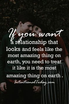 Want the great marriage on earth? Treat it like it is. Tips and ideas on how to do just that