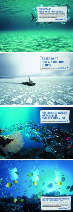 Via Greenpeace. Truth never hurts, vanity and selfishness does.