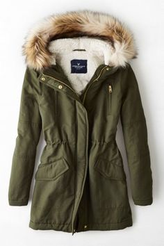 AEO Women's Hooded Parka