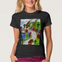 San Francisco City Streets T Shirt