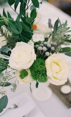 Flower Arrangements Inspiration: Photo by Heather Hester Photography on Inspired by This