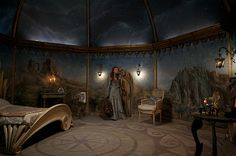 Maria's tower room in The Secret of Moonacre