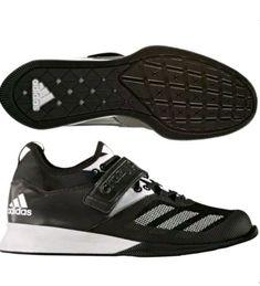 quality design 21e6e 2a134 Adidas Crazy Power Black White Weight Lifting Shoes Mens Size 10  BA9169   T1