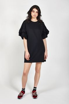 Ketzke Chipper Dress Trending Outfits, Shirt Dress, Stylish, Womens Fashion, Shirts, Clothes, Collection, Black, Dresses