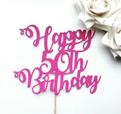 Happy Birthday Cake Topper, Age Cake Topper, Personalised Cake Topper, Birthday Cake Decoration, Any 40th Birthday Cake Topper, Make Birthday Cake, Girl Birthday Themes, Birthday Cake Decorating, 30th Birthday, Birthday Wishes For Myself, Best Birthday Wishes, Happy Birthday Messages, Diamond Anniversary Cake