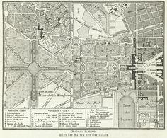 Versailles Gardens Map Meyers - Jardin de Versailles — Wikipédia