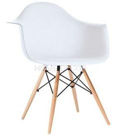FOTEL BUK 20 KOLORÓW DSW DAW 132 - Krzesła do salonu - zdjęcia, pomysły, inspiracje - homebook