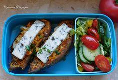 Czerwona Porzeczka: Faszerowane bataty- Lunchbox #4 Blog, Blogging