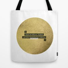 Passionately+Curious+Tote+Bag+by+Cat+Coquillette+-+$22.00
