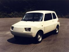 X 126 Softnose 1974 Experimentelles Automobil (Prototyp) FIAT – Diogo Sousa Carvalho – Join in the world Fiat Models, Fiat 126, Automobile, Mini Car, Fiat Cars, Fiat Abarth, Small Cars, Bike Design, Automotive Design