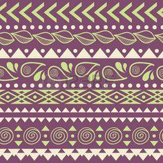 Tribal gestreepte naadloze patroon. Geometrische aztec achtergrond. Kan gebruikt worden in stof ontwerp voor het maken van kleding, accessoires; het creëren van decoratief papier, verpakking, envelop; in web design, enz. photo