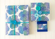 Wrap. Rip. Recycle. Wrappily is chic eco-friendly gift wrap.
