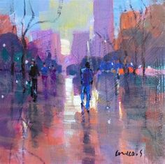 "Daily+Paintworks+-+""In+the+city+2""+-+Original+Fine+Art+for+Sale+-+©+salvatore+greco"