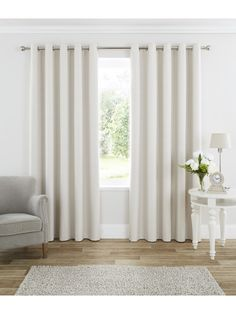 Add classical elegance to your home with the Ponden Home range. The Harmony Blackout Curtains are a must have for any bedroom due to their all season quality. Blackout curtains ensure your room is kept cool in the summer and warm in the winter whilst bloc Blackout Eyelet Curtains, Cream Curtains, Black Curtains, Kids Curtains, Cool Curtains, White Eyelet Curtains, Farm Curtains, Ceiling Curtains, Nursery Curtains