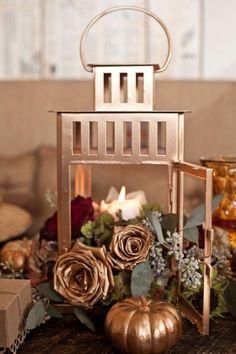 Metall-Garten Laterne Windlichter-Kürbisse Dekorieren Tisch