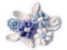Sweet crocheted applique