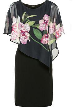 Chiffon Layer Dress by Bodyflirt High Fashion Dresses, Hijab Fashion, Fashion Outfits, Dress Skirt, Bodycon Dress, Chiffon Dress, Shirt Dress, Mother Of Groom Dresses, Women's Fashion Dresses