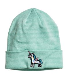 A unicorn beanie that is basically magical.   33 Awesome Things You Should Buy From H&M Right Now