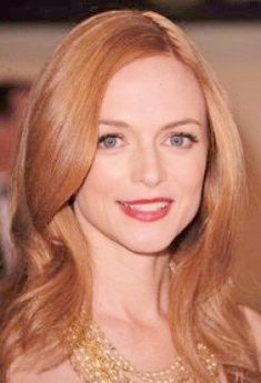 Heather Graham, pictures of strawberry blonde hair color