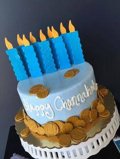 Chanukah Cake - Kosher Cakes for Jewish Holidays & Celebrations from Cake & Co NJ - mazelmoments.com