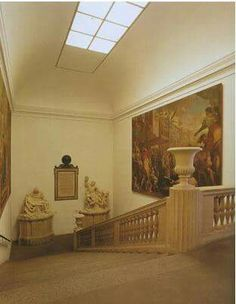 Scalone di accesso Pinacoteca Ambrosiana