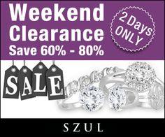 Weekend Clearance Jewelry Sale