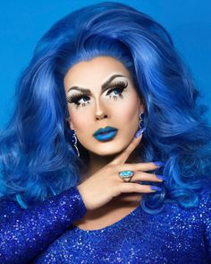 "4,140 Likes, 90 Comments - Alexis Michelle (@alexislives) on Instagram: ""I'd rather be blue. Conceived and Shot by the amazing @ericrichardmagnussen #blue #monochromatic…"""