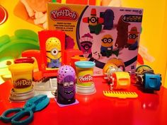 The Despicable Me characters are in need of haircuts with this Play-Doh set.                   Source: POPSUGAR Photography