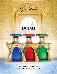 Bond No 9 Dubai Collection: Dubai Amber, Dubai Amethyst, Dubai Citrine ~ Niche Perfumery