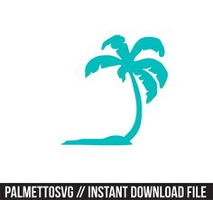 Palm tree decal Svg, Cricut Cut Files, Silhouette Cut Files This listing is for an INSTANT DOWNLOAD. You can easily create your own projects. Can be