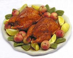 Kiva Atkinson incredible roasted pheasant, via Mini Food blog