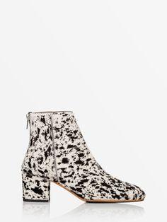 2a3486a1 ATP Atelier Mei Black/White Pony Spritz #atpatelier #ss17 #boots My Wish