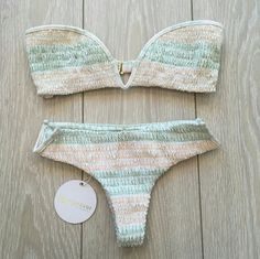 Tori Praver - Chai Bikini Marrkesh Seashell Tori Praver Swimwear. Chai Bottom featuring a low rise, minimal back coverage & wire V at hips for a structured look. Tori Praver  Swim Bikinis