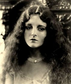 Mary Astor, in the 1920s, a young and beautiful actress for Silent films.