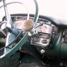 Knob on steering wheel!