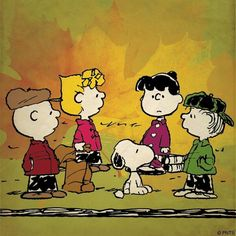 Sunday with the Peanuts Gang