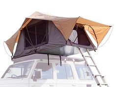 Front Runner Roof Top Tent. Fits on top of the Subaru.