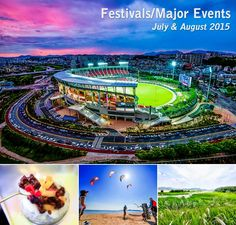 Festivals/Major Events – July & August 2015