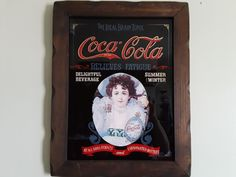Coca-Cola advertising an ideal brain tonic that relieves fatigue.