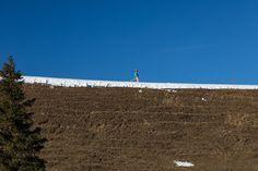 Thanks, snow gun! - Maschgenkamm, Flumserberg, Canton of St. Gallen, Switzerland