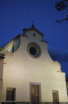 Facciata della Chiesa di Santo Spirito, Firenze (Toscana, Italy) - by Silvana, aprile 2014