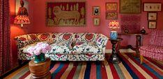 so interesting & pattern-filled. via Soane Interiors