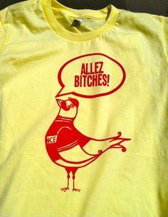 Unisex Allez Cycling shirt. The BEST SHIRT EVER!!