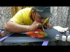 Fluid Painting Technique - Flowering - YouTube