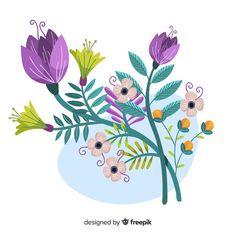 Diy Bag Painting, Fabric Painting, Scars Tattoo Cover Up, Flower Art Images, Islamic Cartoon, Drawing Practice, Ceramic Painting, Painted Rocks, Vector Freepik