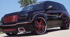 This is a cool short video of a super hot custom wide body Chevrolet Trailblazer SS. Check it out.